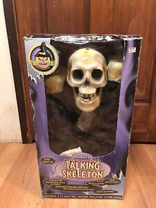 Vintage-GEMMY-1998-Animated-Talking-Sings-Hot-Hot-Hot-3-5-Foot-Skeleton-Groom