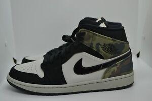 New-Nike-Air-Jordan-1-Mid-SE-034-Camo-034-2020-Retro-CW5490-001-Size-11-NWB