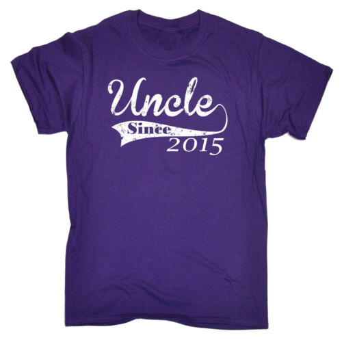 Uncle Since Any Year T-SHIRT birthday gift For Him Family Funny birthday gift