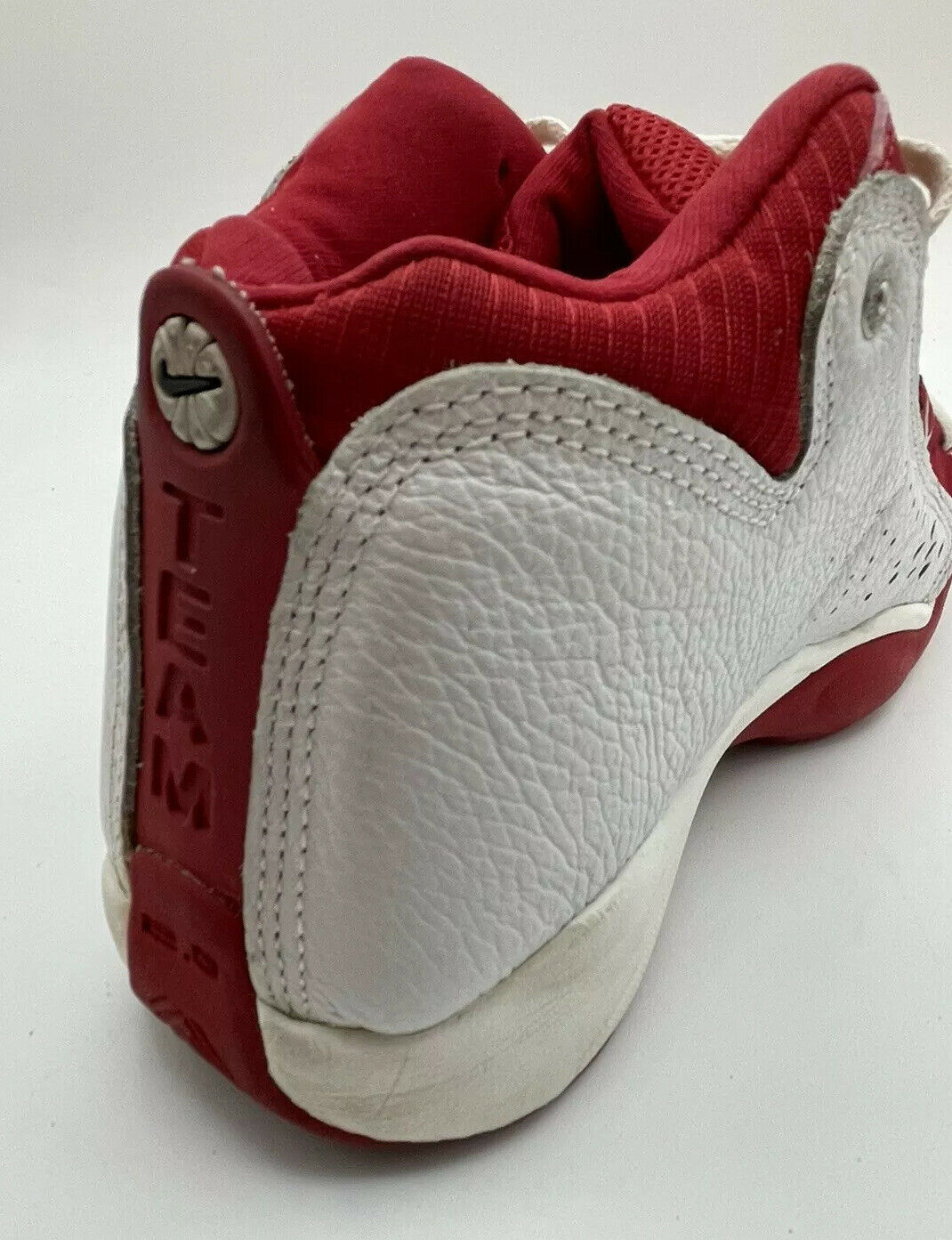 NIKE Air Team 2.0 Basketball Red White 90s Shoes … - image 8