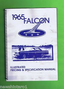 1965-FORD-FALCON-WIRING-AND-PRICING-SPECIFICATION-BOOKLETS