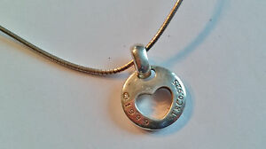 d0cf27f74 Image is loading Authentic-Tiffany-amp-Co-Stencil-Heart-Pendant-1999-