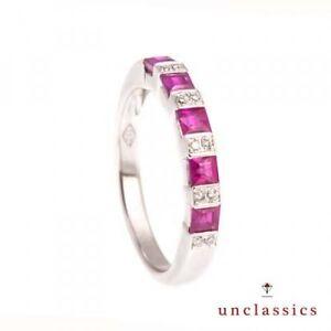 Anello-oro-bianco-18-Kt-e-rubini-e-diamanti-Made-in-Italy-Luxury-Italian