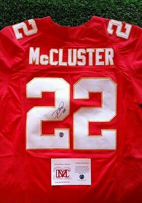 DEXTER McCLUSTER SIGNED AUTOGRAPHED KANSAS CITY CHIEFS #22 JERSEY MCCLUSTER COA   eBay