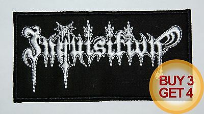 INQUISITION PATCH,BUY3GET4,JUDAS ISCARIOT,MOONBLOOD,MAYHEM,IMMORTAL,BLACK METAL