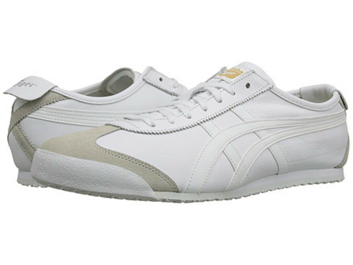 ONITSUKA TIGER DL408.0101 MEXICO 66 Mn's (M) bianca Leather Lifestyle sautope