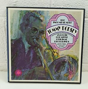 The-Incomparable-Tommy-Dorsey-Vinyl-LP-Record-x4-Collection