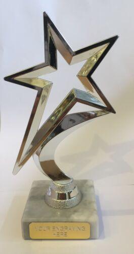 Star Dance Gymnastique Muti Sport Trophy Award Gravure Gratuite 3 Couleurs 18 Cm