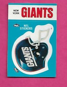 1987-NEW-YORK-GIANTS-NFL-FOOTBALL-STICKER-NRMT-MT-CARD-INV-C3402