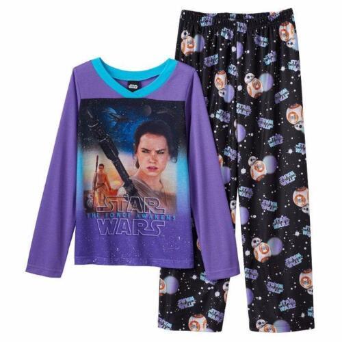 STAR WARS® Girls/' 6 REY /& BB-8 2 Piece Pajama Set NWT