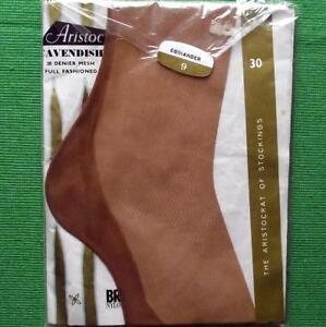b5ef0f10b86 c1950 Sz 9 Aristoc Cavendish Cuban Heel Seamed Vintage Stockings ...