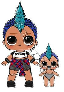 iron on transfer lol doll dolls punk boi boy lil surprise baby girl clipart jpg baby girl clipart images