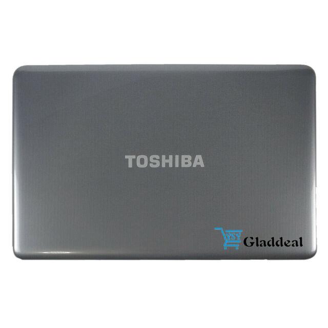 "TOSHIBA Satellite L875 L875D Series 17.3/"" Gray Laptop LCD Back Cover Rear Lid"
