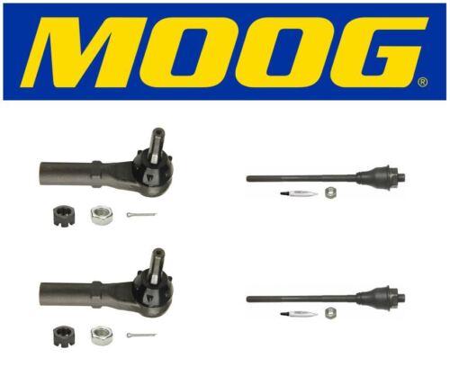 Moog Inner /& Outer Tie Rod Ends 2009 Chevrolet Silverado 2500 HD ES3488 ES3609