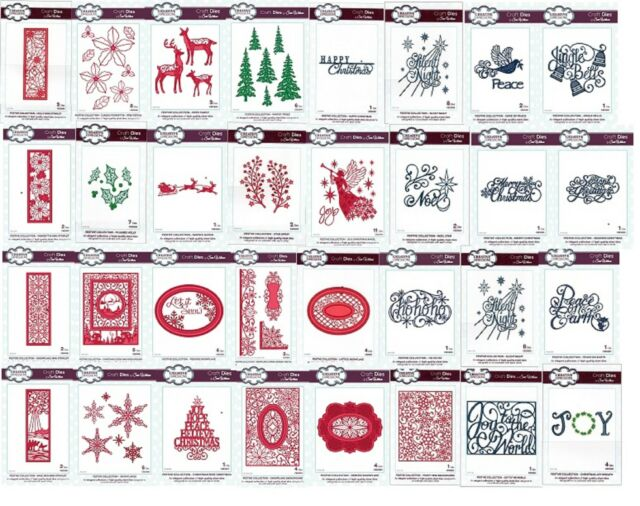 CED3026 Sue Wilson Festive Collection Die Merry Christmas