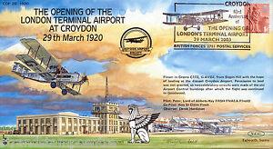 COF 20-1920 Century of Flight - The Opening Of The London Terminal At Croydon