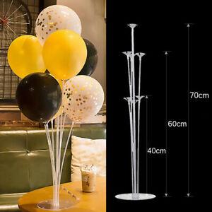 Wo-A-faire-soi-meme-Ballon-Arch-Kit-Colonne-Stand-Avec-Cadre-base-pole-Ballon-clips-parti-de