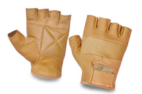 Cuir complet demi doigt haltérophilie gants body building gym fitness cyclisme