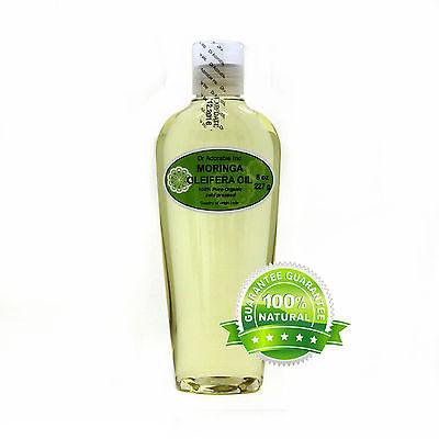 Organic Moringa Oleifera Oil  100% Pure Organic 2 oz up to Gallon Free Shipping