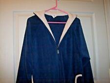 item 5 Women s Blue Long Zip Up Fleece Duster Housecoat Dress Lounger Robe - Women s Blue Long Zip Up Fleece Duster Housecoat Dress Lounger Robe c9065072b