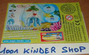 KINDER 2S-74 QUALLEN MACHEN BLAU QUALLDEMAR BPZ (D) hj1JDUZ5-09084255-873550882