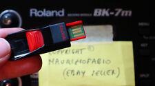 usb pen drive styles stili + karaoke midi songs Roland bk7m bk5 bk9 bk3 Prelude