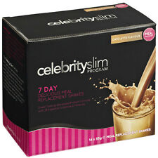 Celebrity Slim 7 Day Caffe Latte Shake  (14 x 55g Shake Sachets)