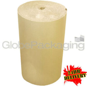 1500mm x 75m CORRUGATED CARDBOARD PAPER ROLL 75 METRES - STRONG PACKAGING 24HRS 5055502386607