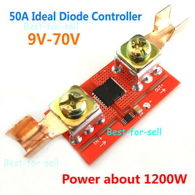 50A Ideal Diode Controller Solar Battery Charging Anti Reverse Irrigation Module