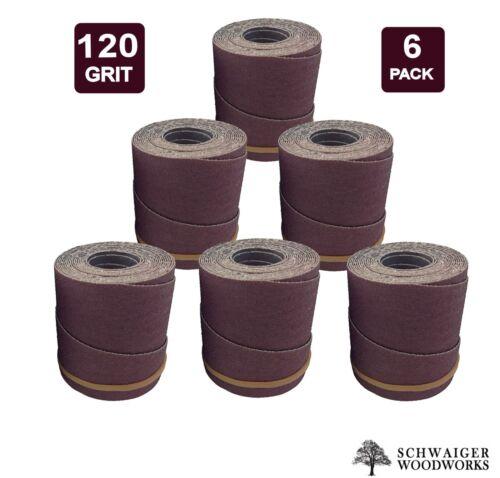 Drum Sander Sanding Wraps//Rolls 22-44 Plus//Pro 6 120g for JET//Performax 22-44