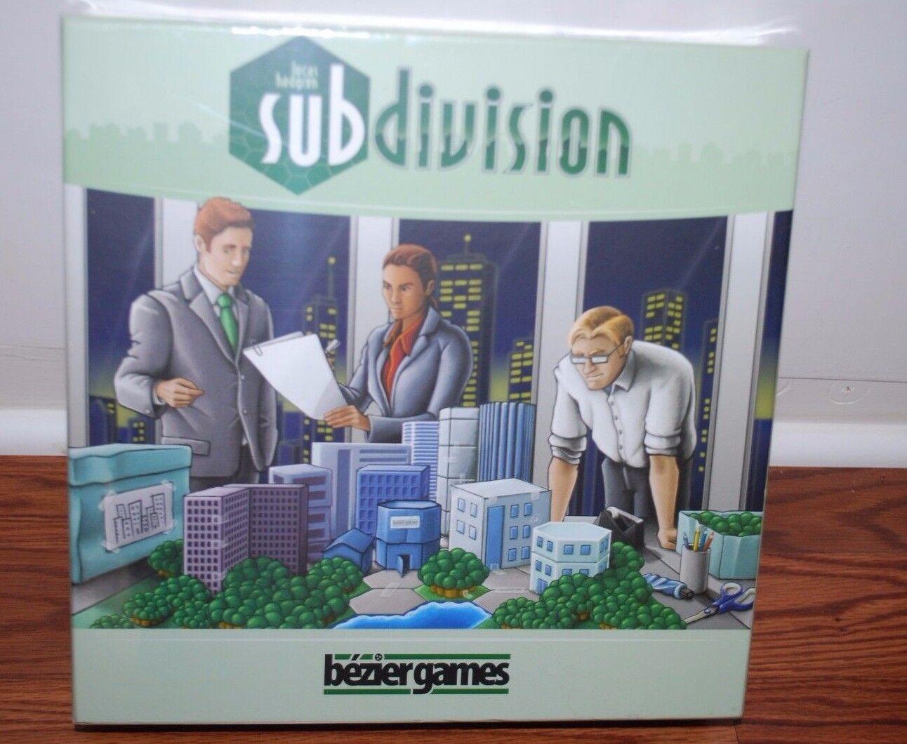 (nuovo SEALED) SUBDIVISION LUCAS HEDGREN tavola  gioco FAMILY GROUP divertimento NIGHT  lo stile classico