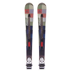 Fischer Hybrid 7.5 Ti + Bindung RS11, Carvingski Rocker, All Mountain Ski, 182cm