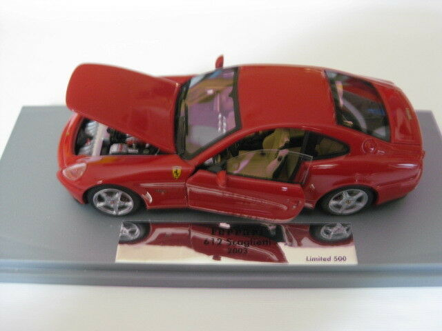 BBR/GASOLINE Ferrari 612 SCAGLIETTI Engine & Doors Open FIXED ro1:43 NUOVO IN SCATOLA ORIGINALE
