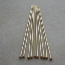 20 14kt Gold Filled Jewelry Headpins 1.5 Inch 24 Gauge
