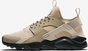 Autentico-Nike-Air-Huarache-Run-Ultra-819685-201-Seta-Caqui-Negro-Hombre-Talla