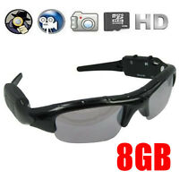 Spy Sunglasses Glasses 8gb Sd Card Hidden Video Camera Mini Dvr Digital Recorder