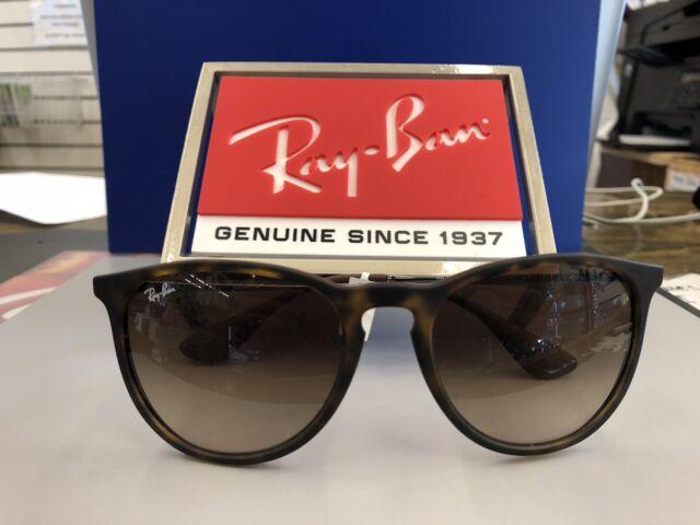 807e0f68b9 Ray-Ban Women s Gradient Erika RB4171-865 13-54 Brown Round Sunglasses