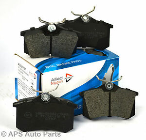 Genuine-Allied-Nippon-Citroen-C3-C4-DS3-Xsara-Frein-Arriere-Plaquettes-Disques-Etrier-NEUF