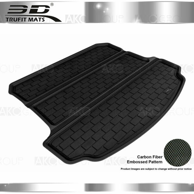 All Weather Cargo Liner Fits 07-13 Acura MDX Black Rubber