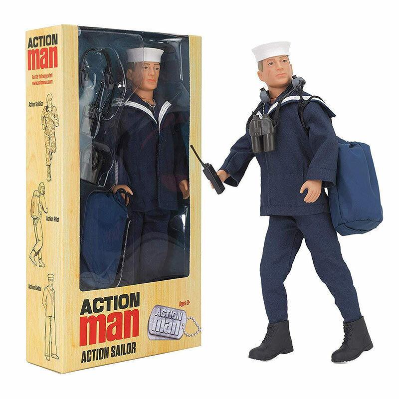 Action Man Deluxe Figure - Sailor - Flair ACR01200