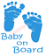 Baby-On-Board-Sticker-Vinyl-Decal-Window-Sticker-Car thumbnail 1