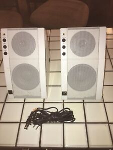 Vintage-AR-Powered-Partner-570-Speakers-Acoustic-Research-White-1994