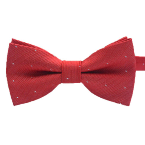 UK/_ Children Kids Toddler Boys Girls Solid Colour Pre Tied Bow Tie Party Prom Ex