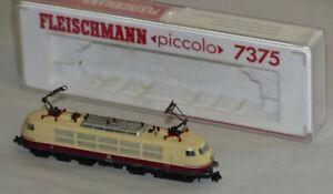 Fleischmann-piccolo-7375-E-Lok-BR-103-142-6-DB-Bastler-faehrt-nicht-Spur-N