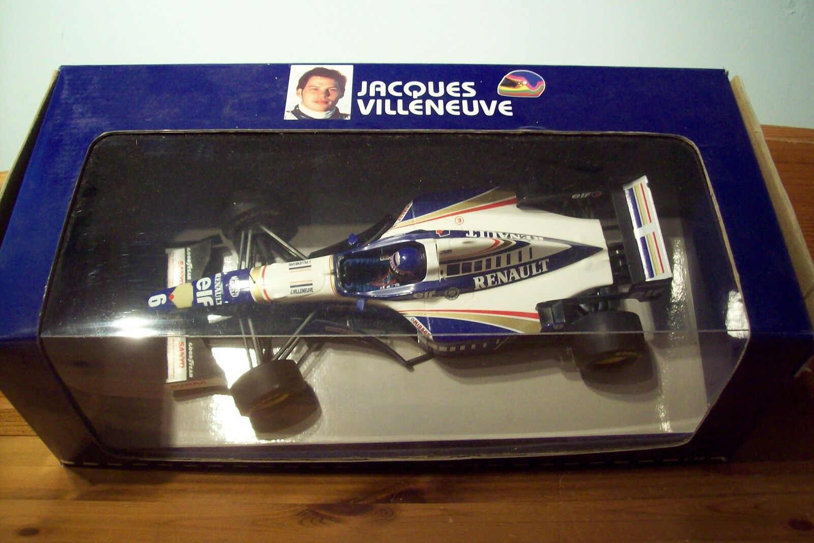 1 18 WILLIAMS RENAULT FW18 JACQUES VILLENEUVE 1996