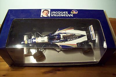 Schietto 1/18 Williams Renault Fw18 Jacques Villeneuve Sr. 1996-mostra Il Titolo Originale