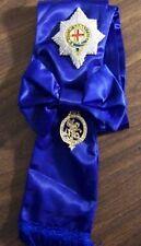 UK England Britain Medieval Royal Knight Order Garter Medal Badge Award Ceremony