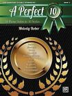 A Perfect 10, Book 2: 10 Piano Solos in 10 Styles by Alfred Publishing Co., Inc. (Paperback / softback, 2013)