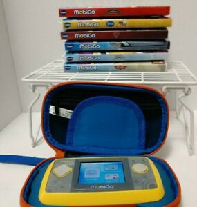 Vtech-Mobigo-Touch-Learning-System-With-Games-Lot-Tested-Good-Condition