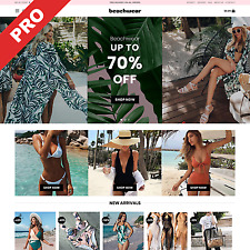 Swimwear Store Automated Dropshipping Store Website Business For Sale